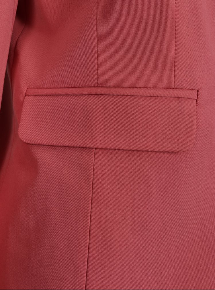 Korálové sako s kapsami Dorothy Perkins