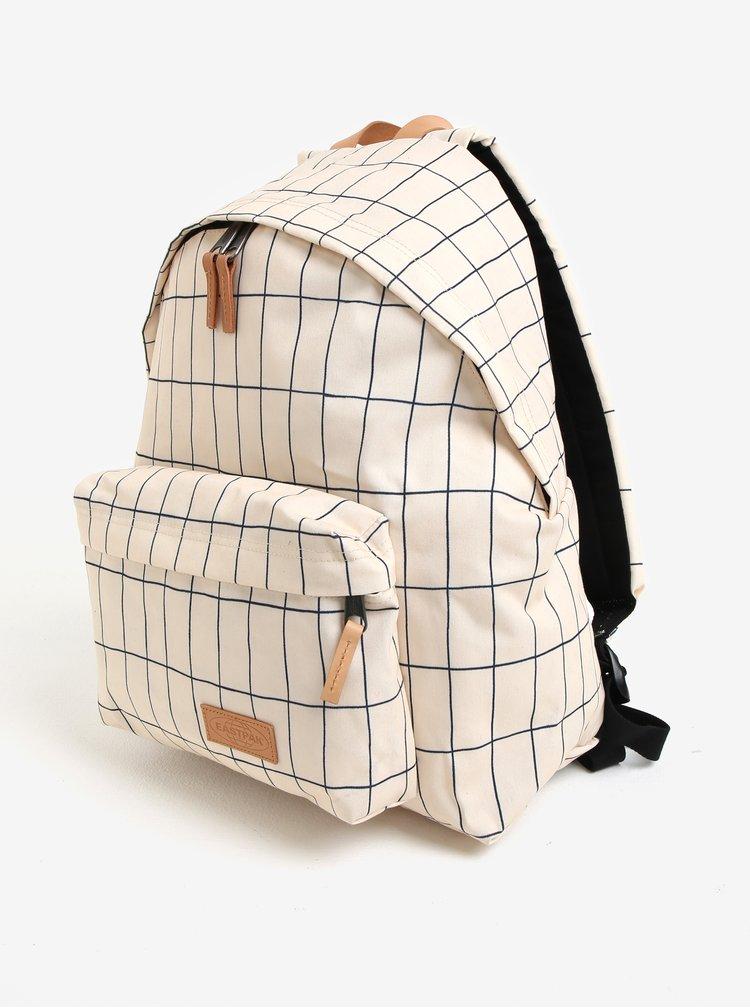 Krémový vzorovaný batoh Eastpak Aminimal Padded Pak´r 24 l
