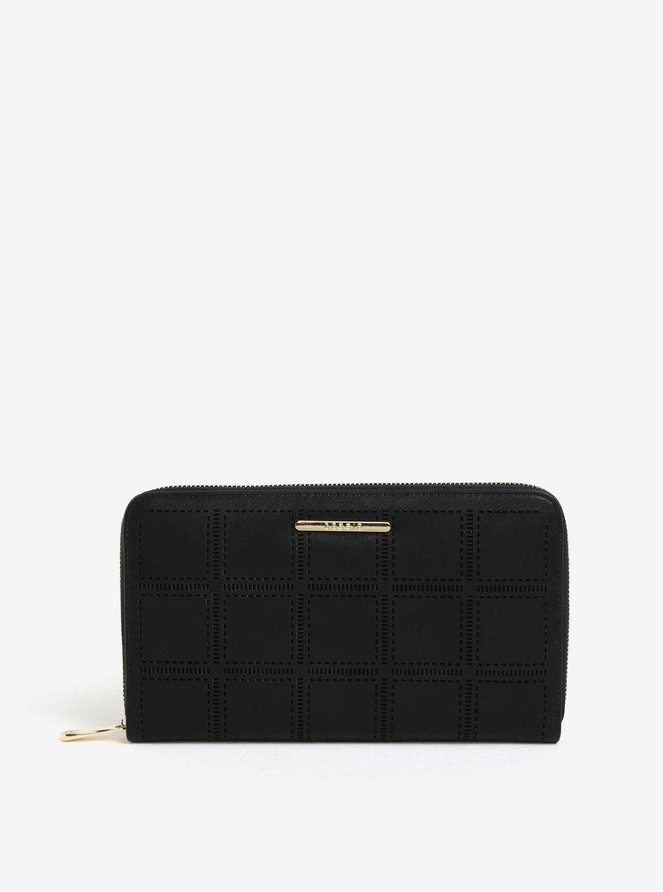 Černá velká peněženka s pouzdrem na doklady Bessie London