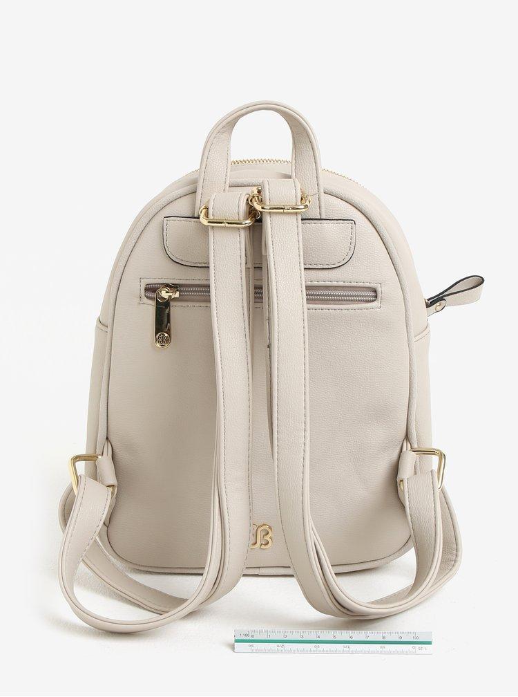 Krémový batoh s perforovanými detaily Bessie London