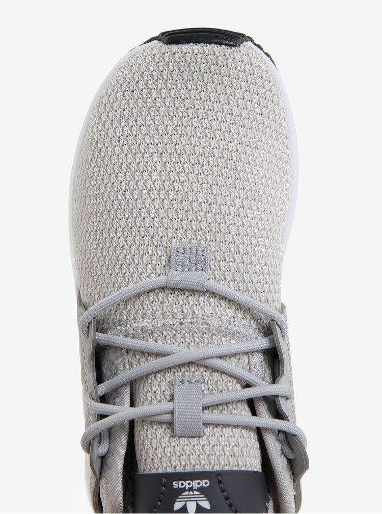 Šedé dětské tenisky adidas Originals X_PLR C