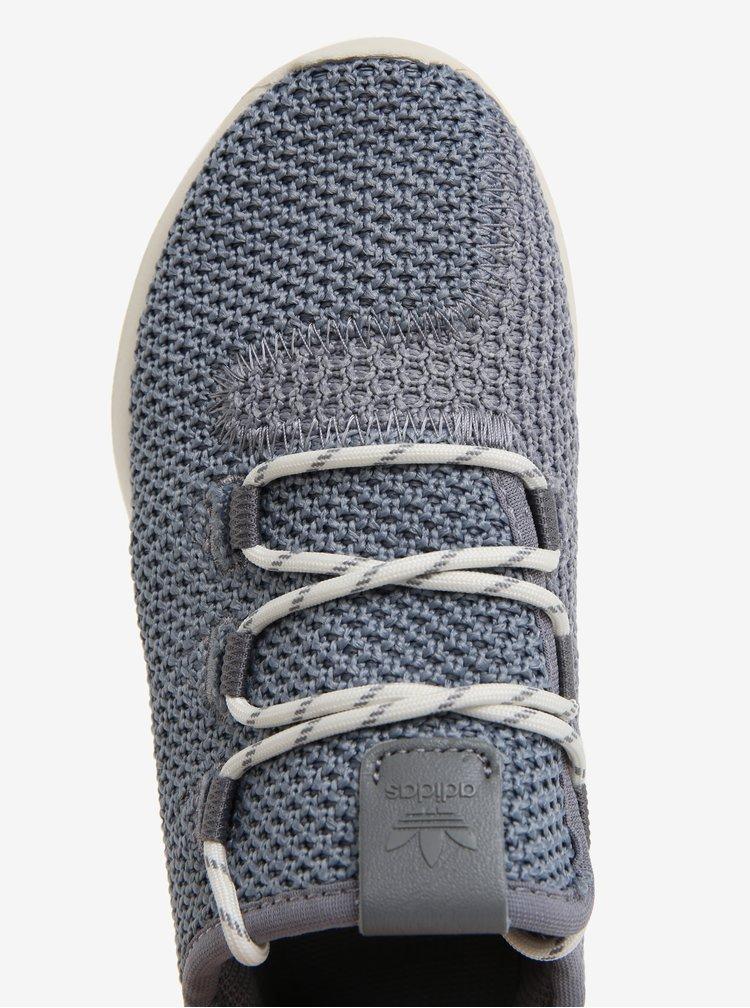 Šedé dětské tenisky adidas Originals Tubular