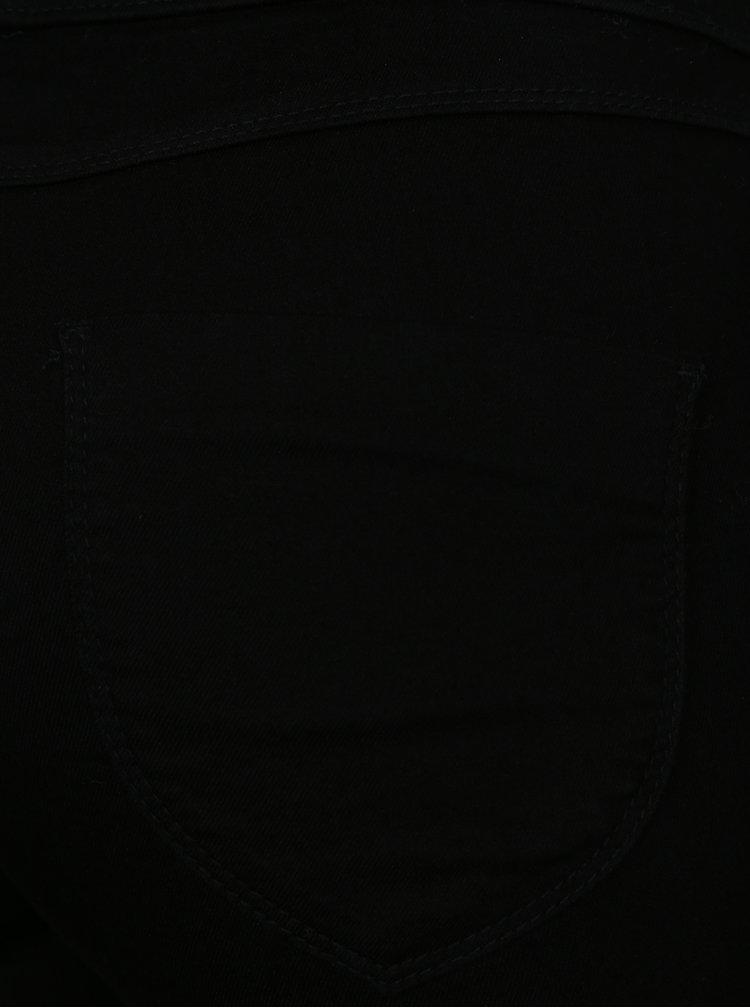 Černé zkrácené jeggings Dorothy Perkins