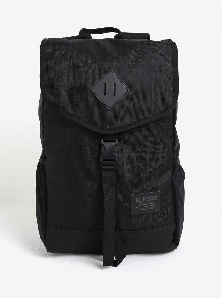 Černý batoh s klopou Burton Westfall 23 l