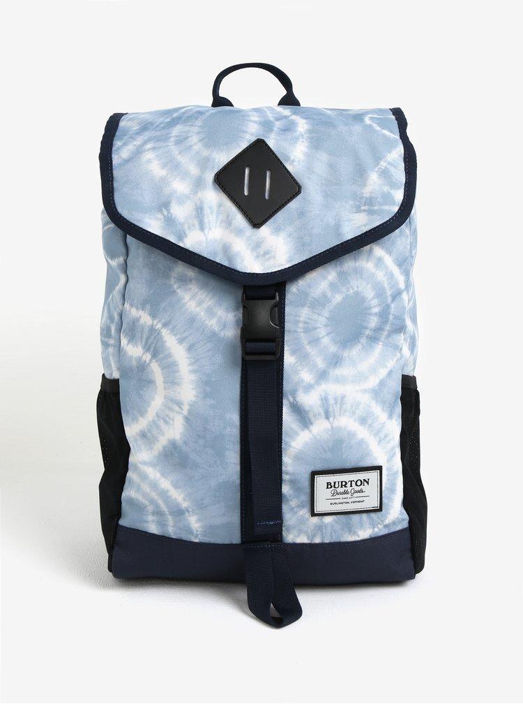 Modrý vzorovaný batoh s chlopňou Burton Westfall 23 l