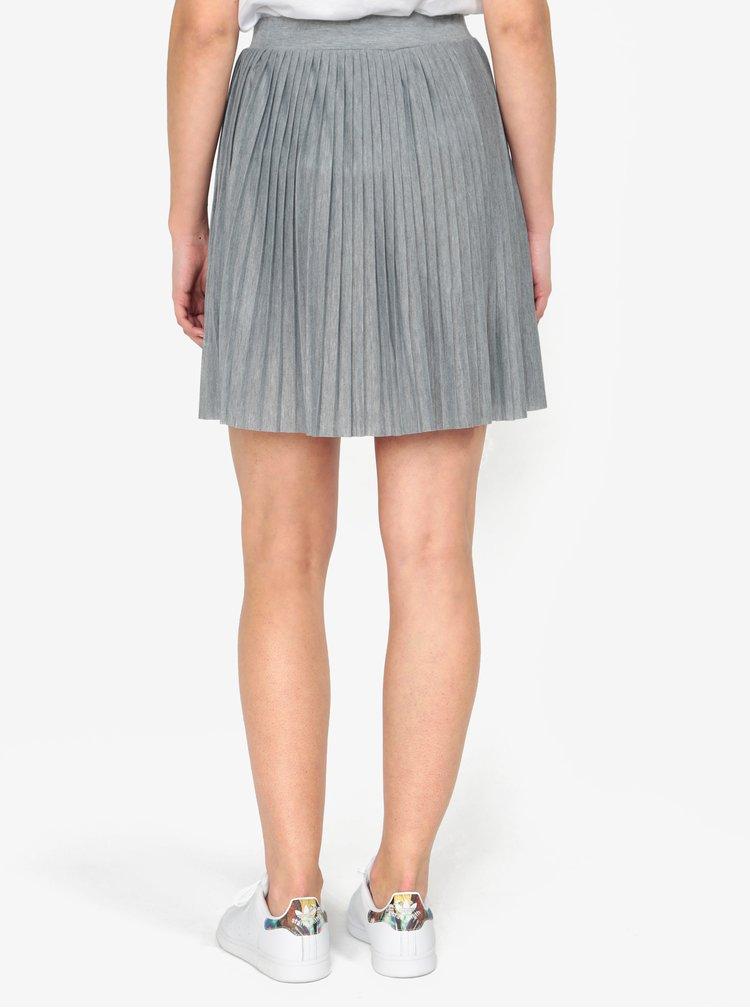 Šedá plisovaná sukně Haily´s Helen