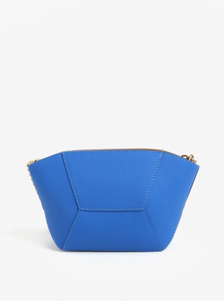 Modrá malá crossbody kabelka se zlatými detaily Paul´s Boutique Tasmin