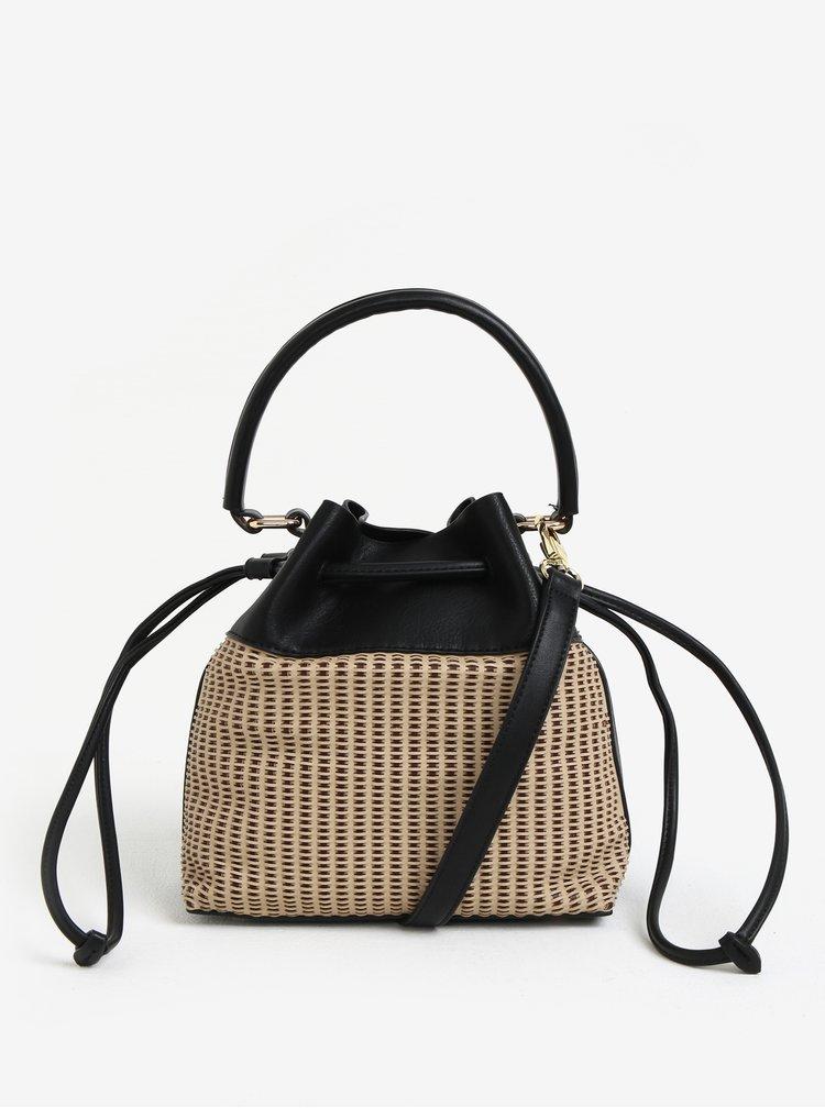 Černá vaková kabelka Bessie London