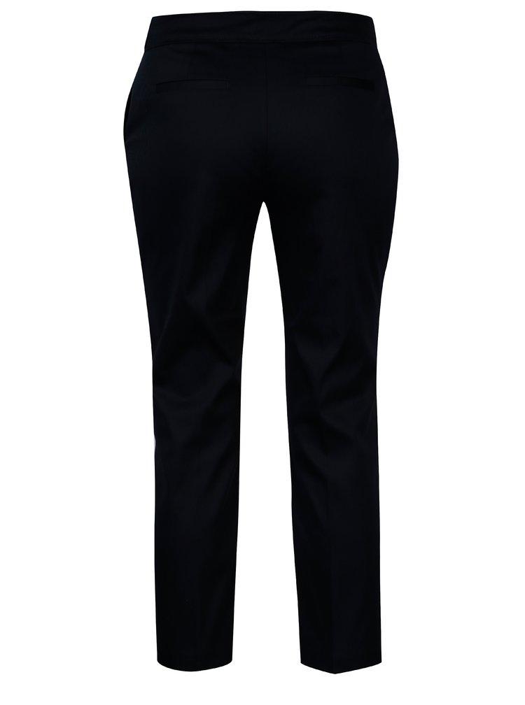 Pantaloni bleumarin cu nasturi decorativi - Dorothy Perkins