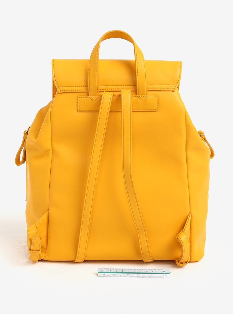 Žlutý koženkový batoh Paul´s Boutique Celine