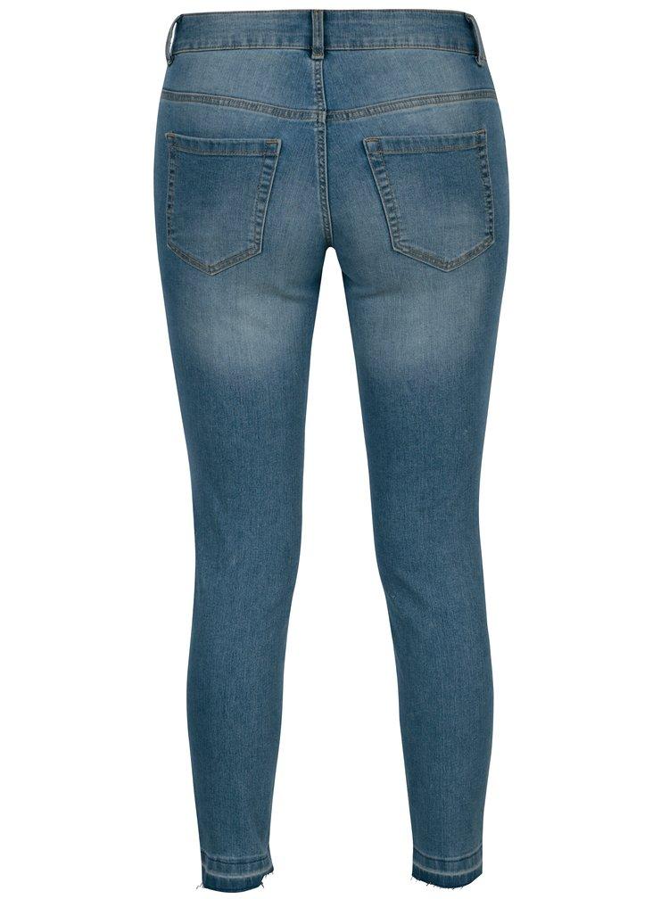 Modré skinny džíny Jacqueline de Yong Jamie