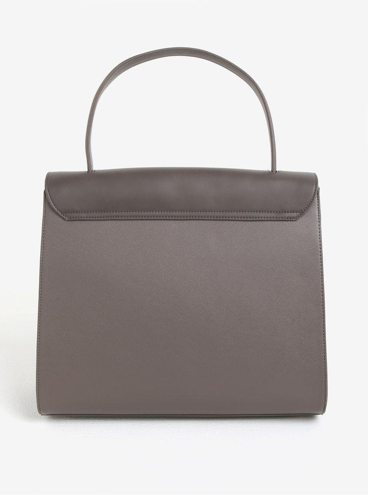 Hnědá kabelka s klopou Paul´s Boutique Mika