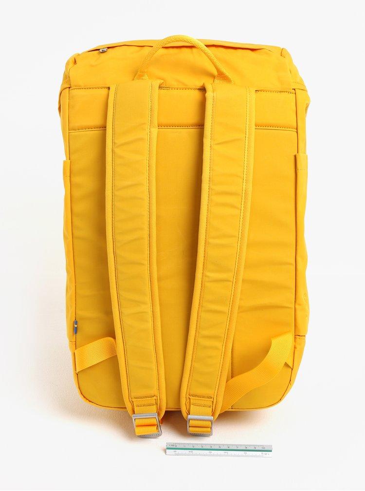 Žlutý voděodolný batoh Fjällräven Greenland Top 28 l