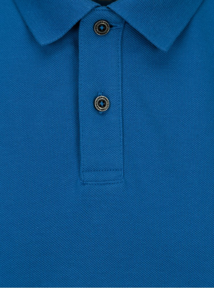 Tricou polo albastru regular fit pentru barbati s.Oliver