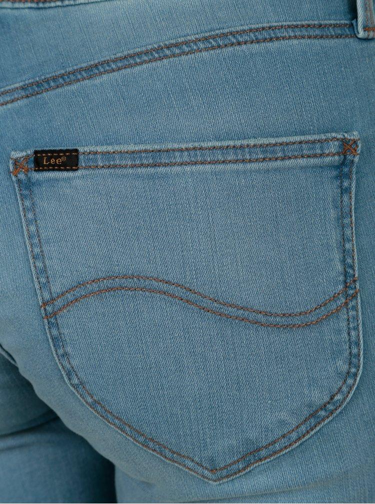 Světle modré dámské straight džíny Lee Marion