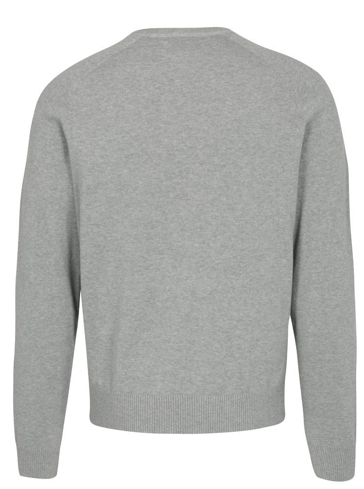 Šedý žíhaný lehký svetr Original Penguin Whiskee days