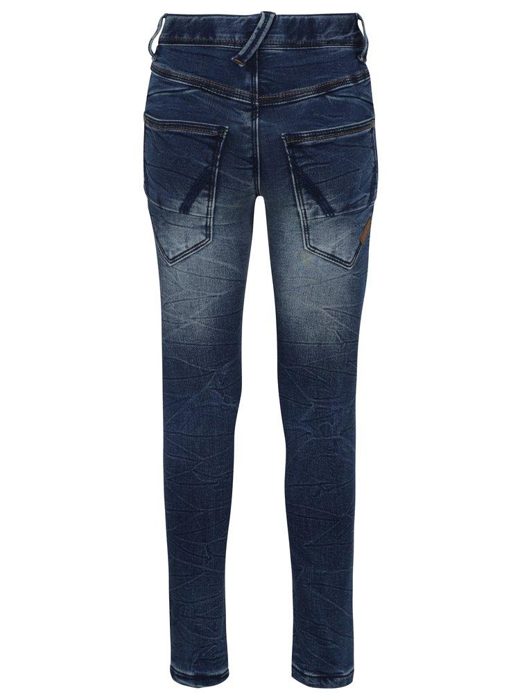 Tmavě modré klučičí skinny džíny ame it Pete