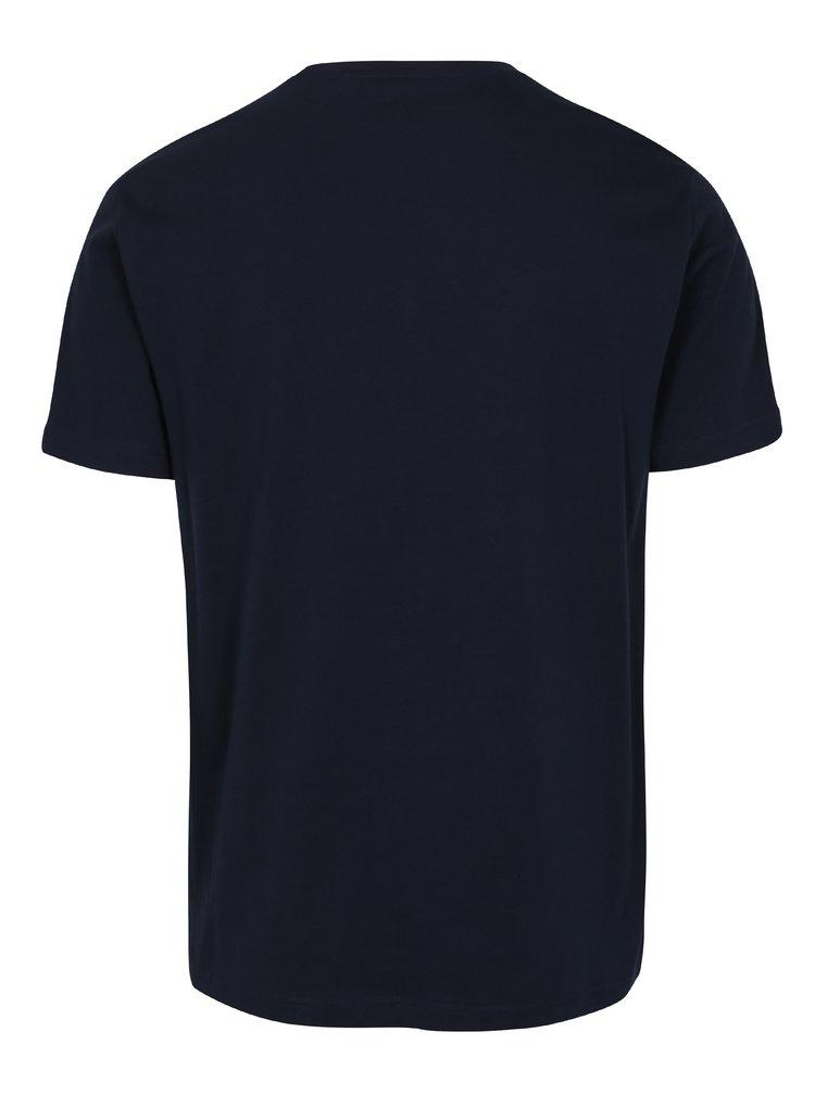 Tmavě modré tričko s potiskem Original Penguin Distressed