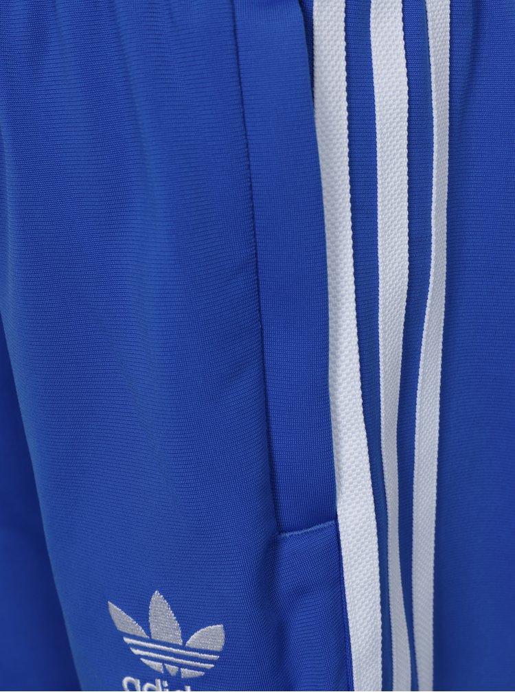 Modré klučičí tepláky adidas Originals