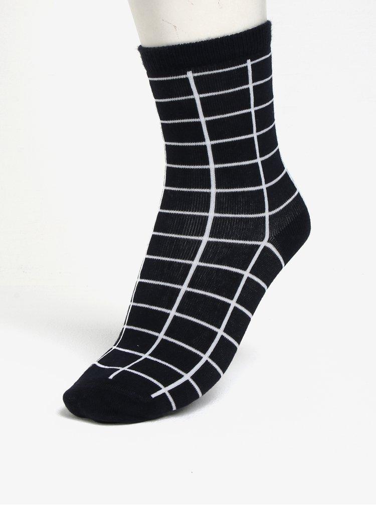 Sada pěti párů klučičích ponožek v modré, šedé a černé barvě name it Vak