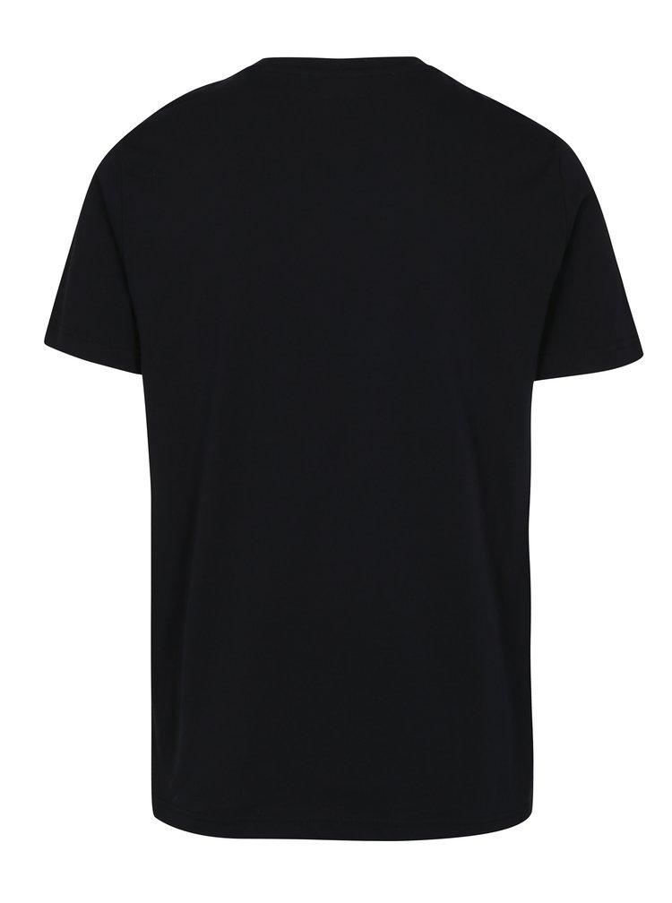 Černé tričko Original Penguin Pin Point