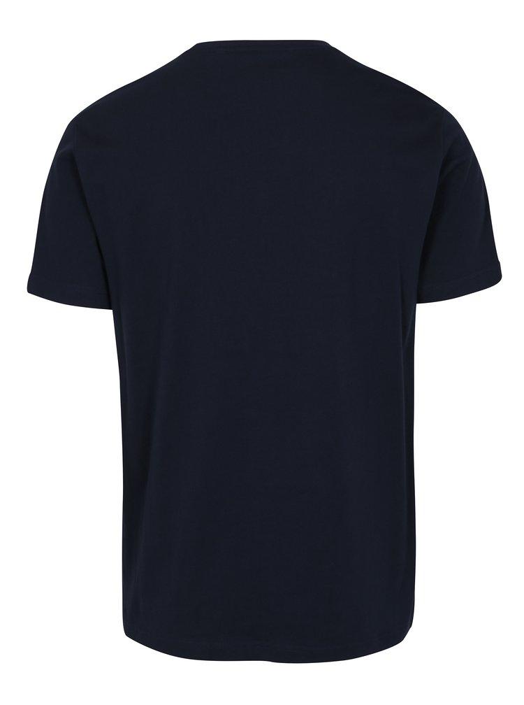 Tmavě modré tričko Original Penguin Pin Point