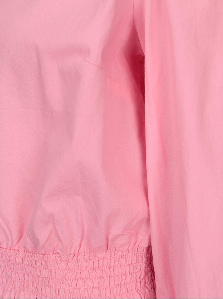 Růžová volná halenka ONLY Maia