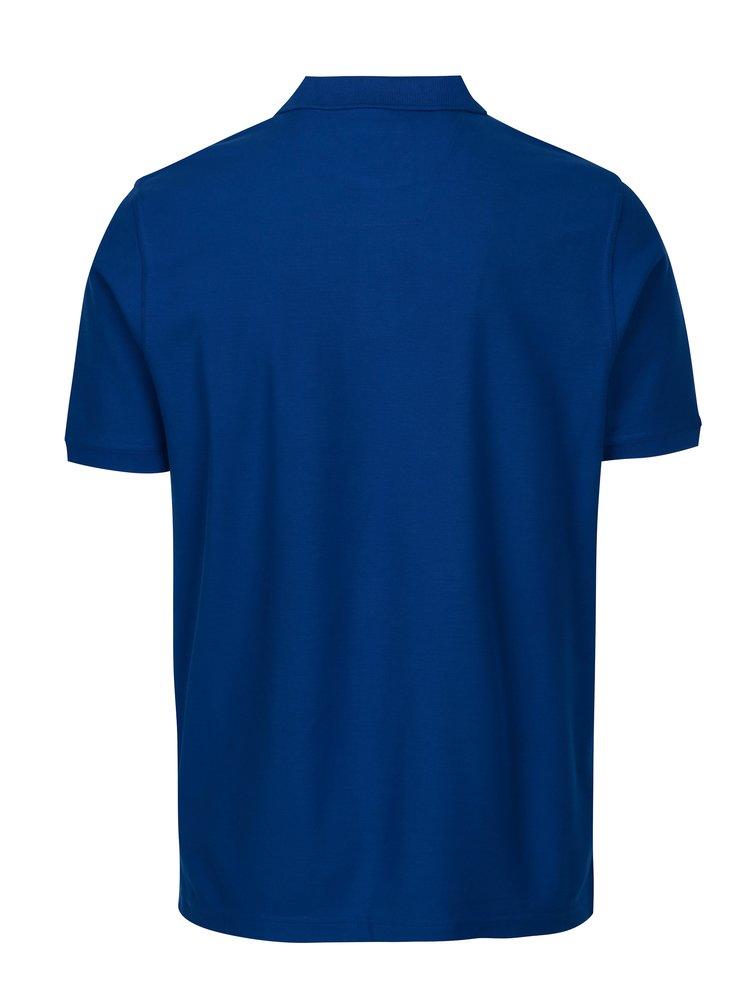 Tmavě modré polo tričko s krátkým rukávem Fynch-Hatton