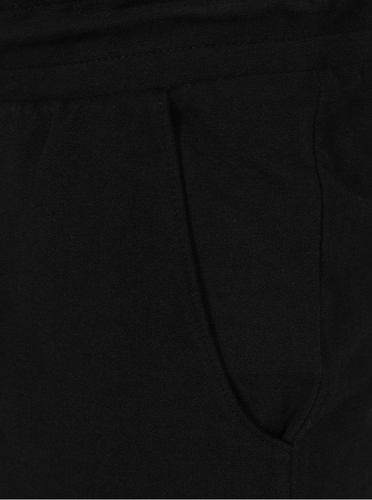 Černé teplákové kraťasy Shine Original