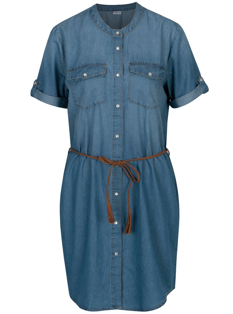 Modré džínové šaty Jacqueline de Yong Shine