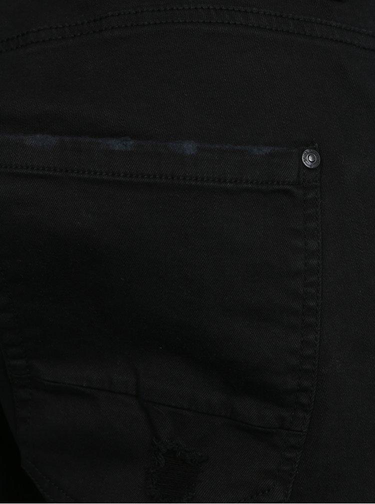 Černé džínové kraťasy Shine Original