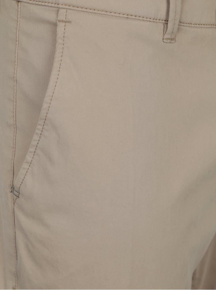 Béžové modern fit chino kalhoty kalhoty Fynch-Hatton