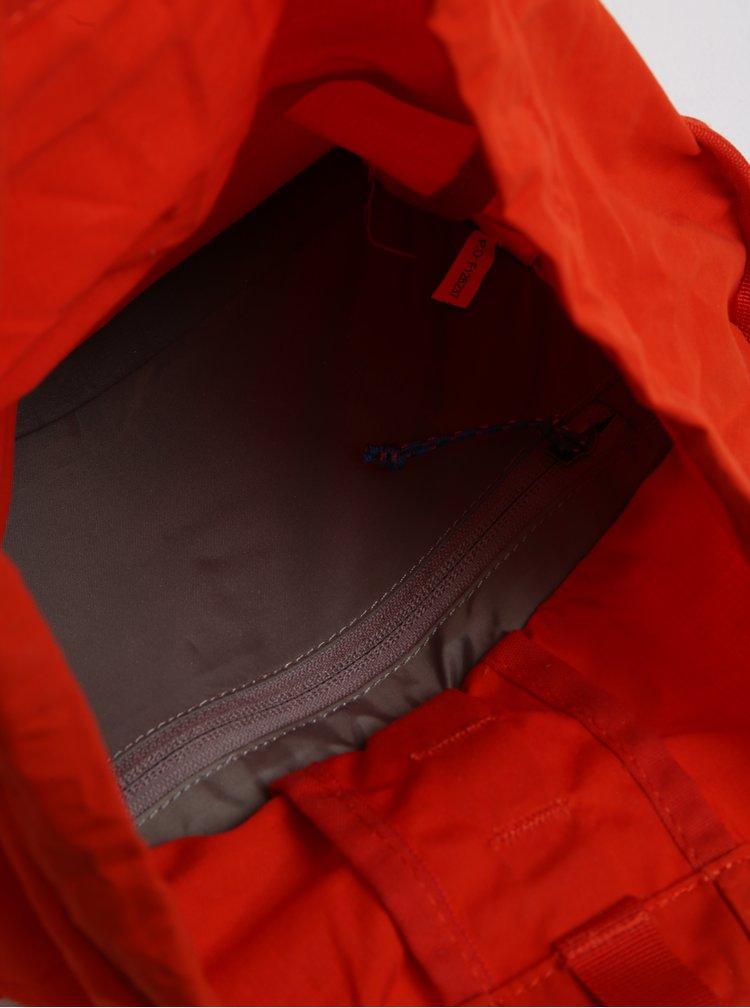 Červený voděodolný batoh Fjällräven High Coast 18 l