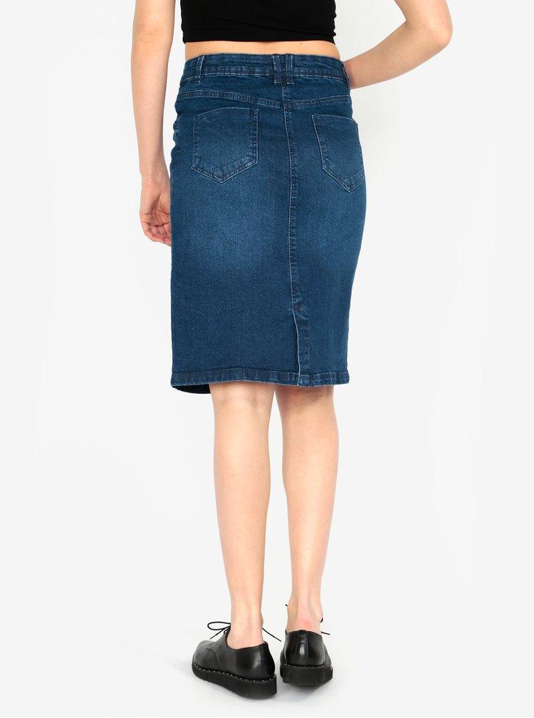Modrá džínová sukně M&Co