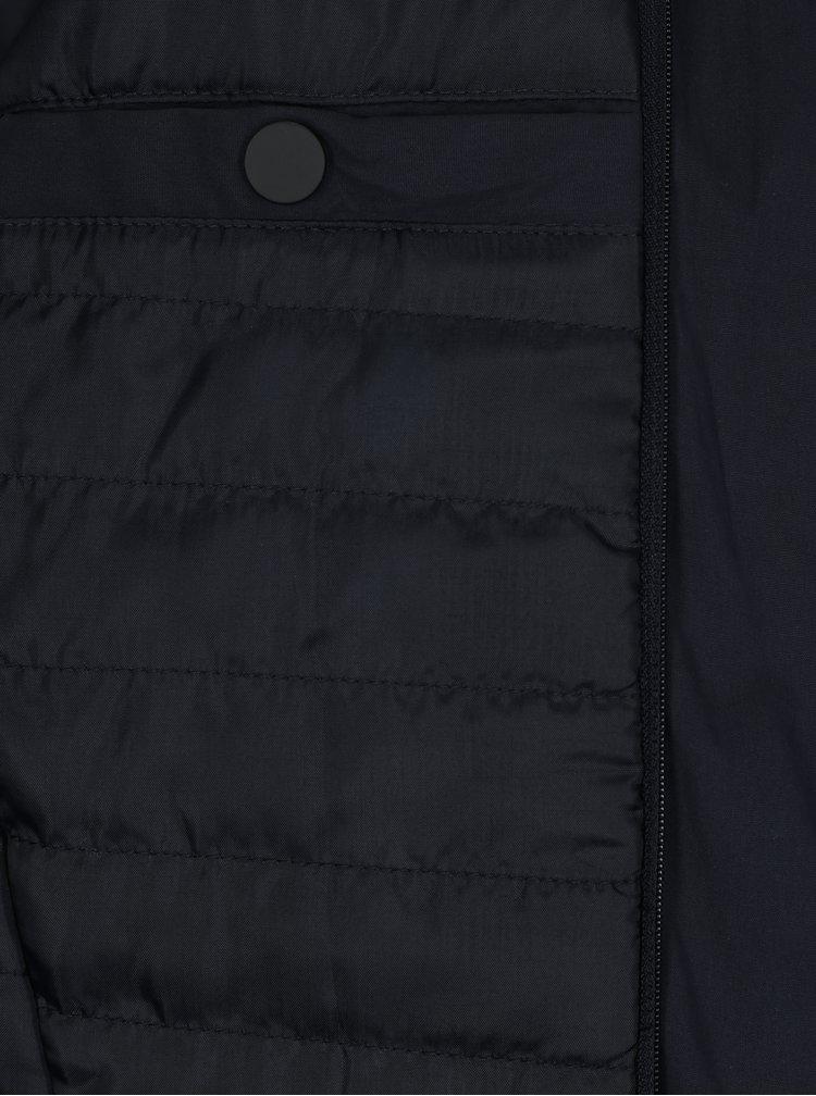 Tmavě modrý kabát Jack & Jones Tristan