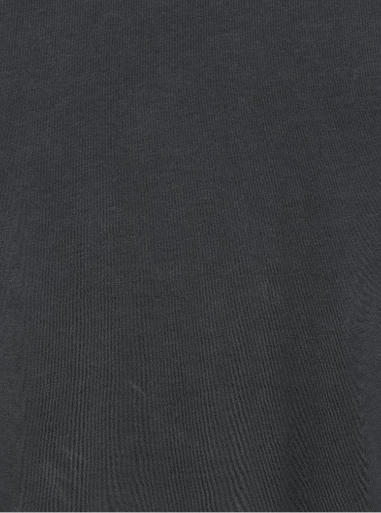 Tricou gri inchis - Jack & Jones Carter