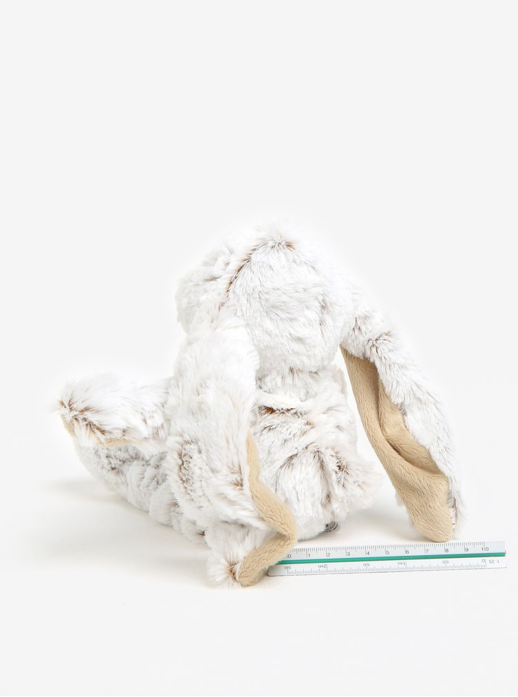 Krémový plyšový zajíc Kaemingk