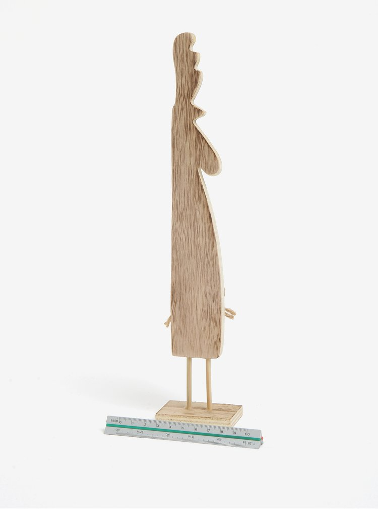 Dřevěná dekorace ve tvaru kohouta Dakls