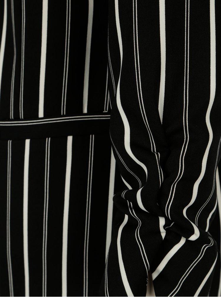 Černo-krémové pruhované sako Dorothy Perkins