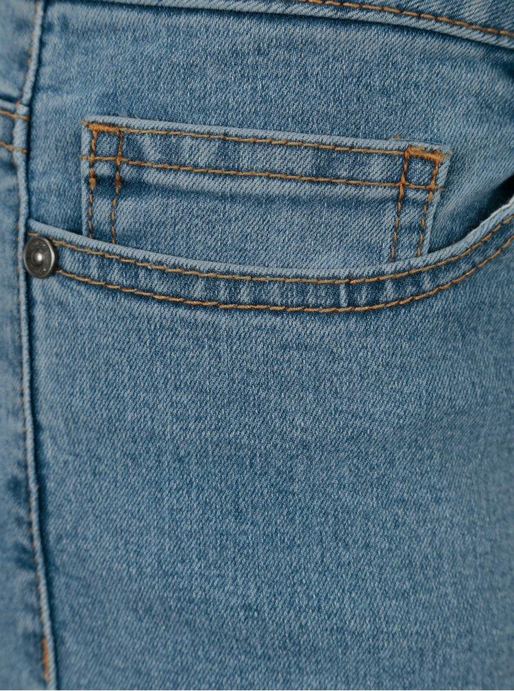 Pantaloni scurti albastri din denim Noisy May Be Lucy