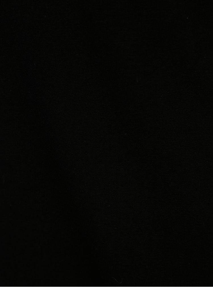Černé pouzdrové šaty s krátkým rukávem Dorothy Perkins
