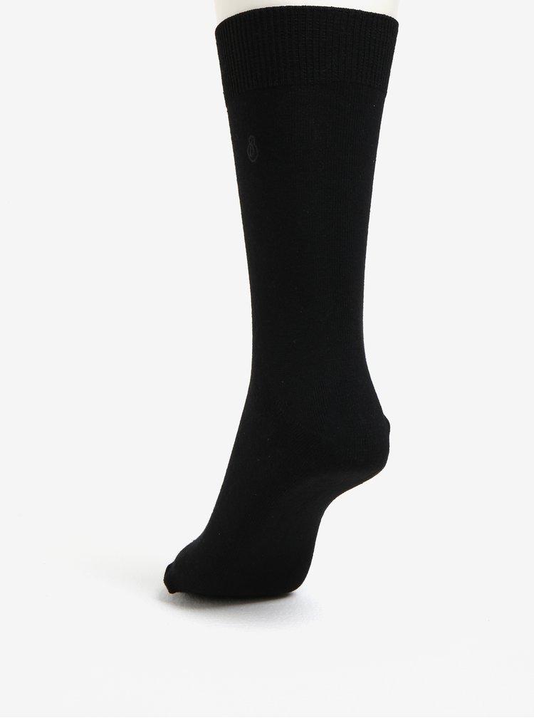 Sada pěti párů ponožek v černé barvě Burton Menswear London