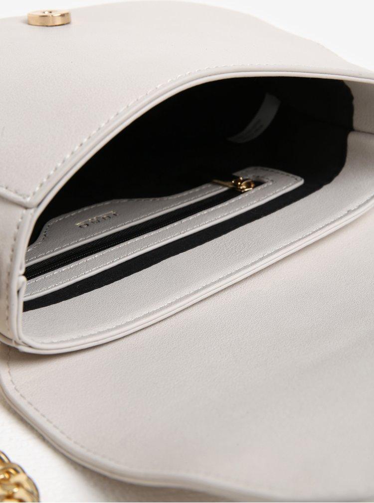 Krémová crossbody kabelka s trblietavou aplikáciou Juno