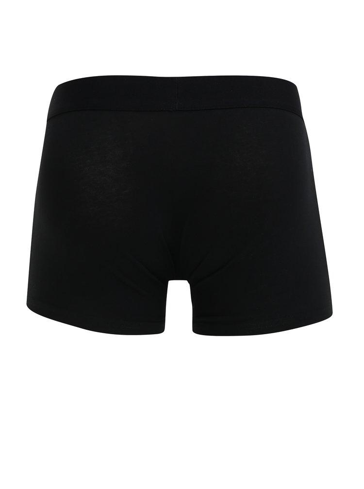 Sada tří boxerek v černé barvě Burton Menswear London