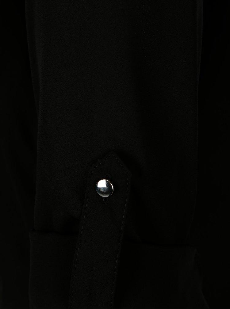 Camasa asimetrica neagra Dorothy Perkins