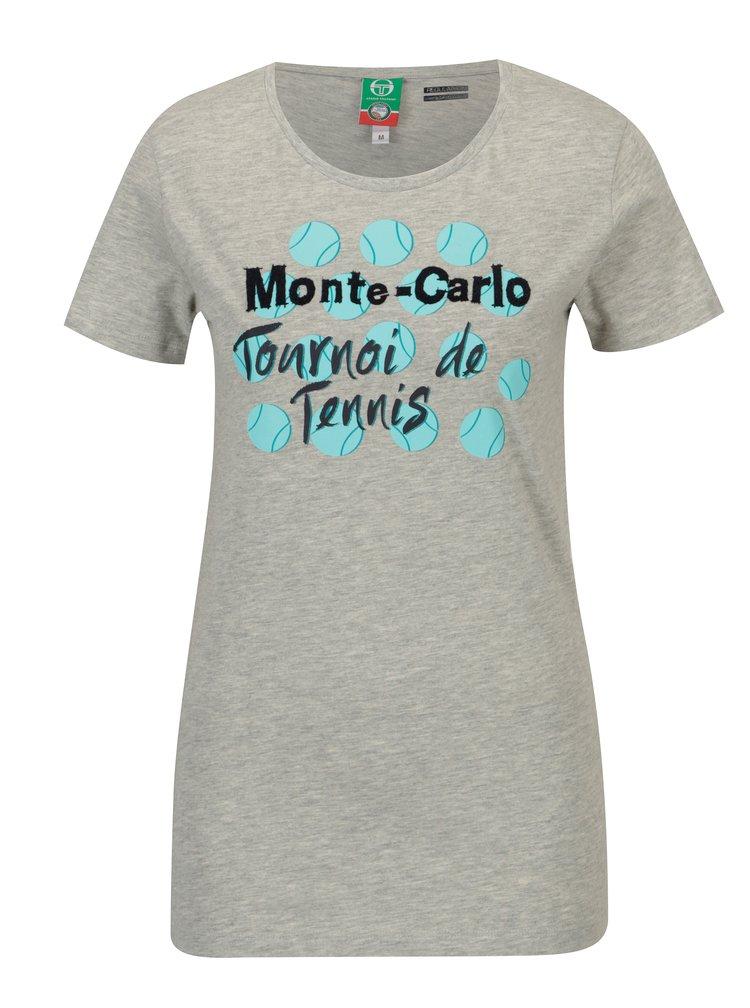 Šedé dámské tričko Sergio Tacchini Ondina