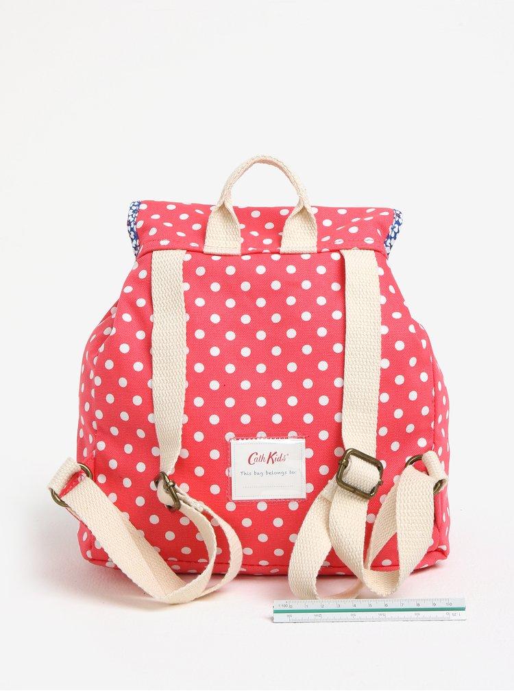 Růžový holčičí puntíkovaný batoh Cath Kidston