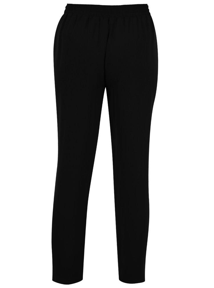 Černé kalhoty s mašlí Dorothy Perkins