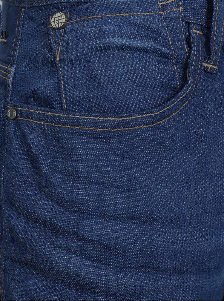 Modré straight džíny Blend