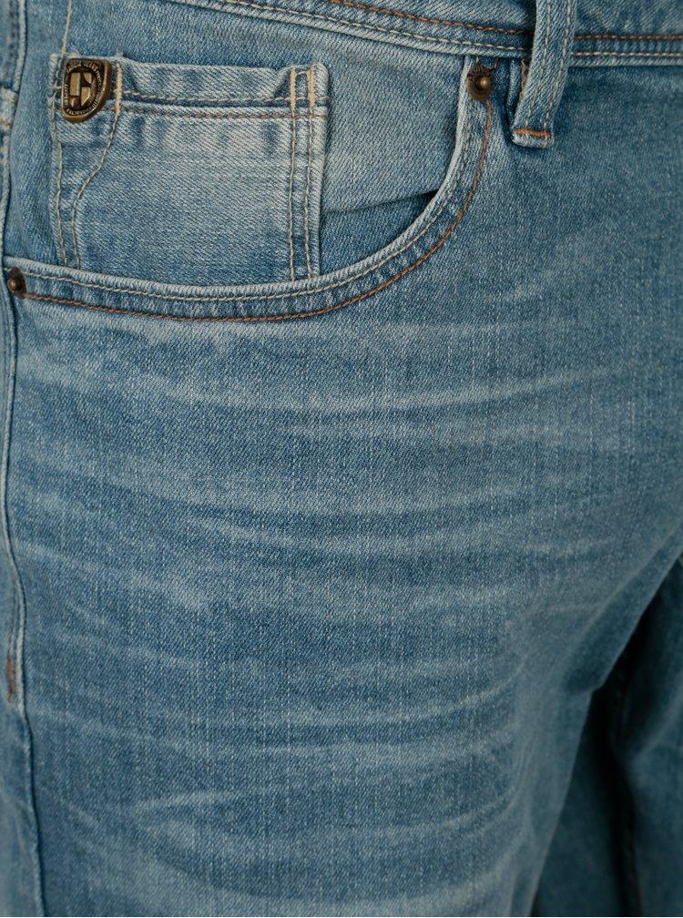 Blugi albstru deschis slim fit pentru barbati - Garcia Jeans Savio